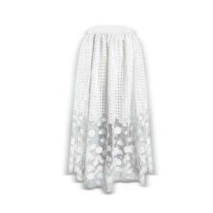 Women Skirt Multi-Layer Lace See Through Short Dress Fashion Sexy Elegant Summer