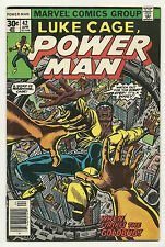 Luke Cage Power Man 1977 #42 Very Fine