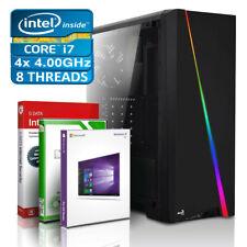 Intel Core i7 4790 Computer GAMING PC 32GB RAM 2TB SSD 12TB HDD Windows 10 NEU