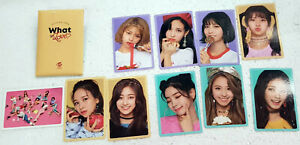 TWICE Official Photocard Set What is Love? B ver. Kpop Goods Collection Kpop