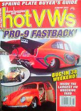 HOT VWS Magazine - August 2013, Beetle Volkswagen, Bug, Bus, Kombi, Buggy