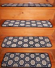 "13 Step  9"" x 30"" + 1 Landing 29"" x 30""  Wool Carpet Stair Treads"