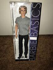 Barbie Basics Ken Black Label-Model No.16 Collection 002- Plus Bonus Accessories