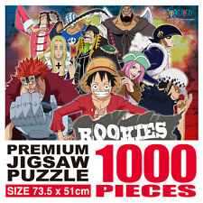 One Piece Animation Jigsaw Puzzle 1000P Rookies