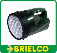 LINTERNA 12 LEDS BATERIA 4V 3A RECARGABLE A 12VDC Y A 220VAC ALCANCE 200M BD4213
