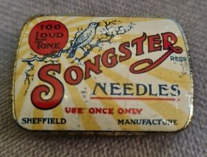 Songster Of Sheffield Vintage Record Player Needle Tin
