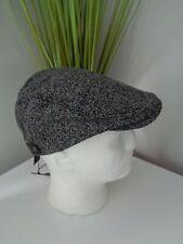 BNWT Ted Baker Deck Wool Blend Grey Flat Cap Hat size 57cm Gift Idea!!