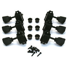 Wilkinson 3x3 Black Vintage Tuners for Gibson/Epiphone Les Paul SG® WJ-44-3B