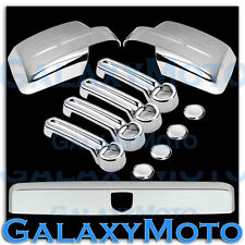 07-13 DODGE NITRO Shiny Chrome Mirror+4 Door Handle+Tailgate Trunk Molding Cover
