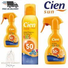 Cien Sun Spray for kids SPF50 Fragrance Free BRAND NEW - Free UK Shipping