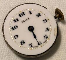 Rolex Junior wristwatch movement & enamel dial balance broken