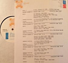 RADIO SHOW: 1/22/88 SAM COOKE PROFILE w/17 SONGS AND SPECIAL FEATURES