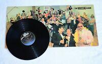 The Wrestling Album Record Vintage HULK ROWDY VINCE MCMAHON WWF Vinyl Epic