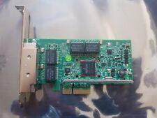 QUAD PORT GbE GE Gigabit Ethernet PCI-E 2.0 x4 Dell KH08P BroadCom BCM95719