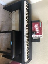 yamaha piano keyboard With Piano Seat, Learning Books, And Metronome