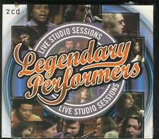 LEGENDARY PERFORMERS 2CD LIVE STUDIO ALICE COOPER FOCUS ROXY MUSIC LYNYRD SYNYR