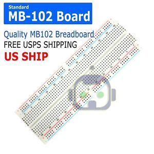 MB-102 830 Point Prototype PCB Solderless Breadboard Protoboard US