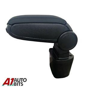 Fit Nissan Juke 2010 - 2019 Black Leatherette Armrest Arm Rest Center Console