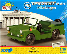 COBI Trabant 601 Kubelwagen (24556) - 83 elem. - East German military car