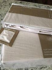 DKNY 4 PC Queen Cotton Sheet Set+ 2Standard Shams Pure Garment Washed Light Pink