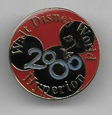DISNEY WORLD MICKEY MOUSE EARS HYPERION MILLENNIUM 2000 WDW PIN