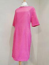 DAMSEL IN A DRESS COTTON BLEND TWEED SHIFT DRESS SZ UK 16
