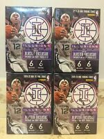 LOT of (4) 2019-20 Panini Illusions Basketball NBA Blaster Boxes Factory Sealed