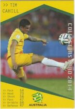 Australia Single Soccer Trading Cards