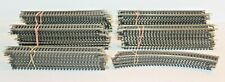 """Lot of 75 Atlas Snap Track HO Scale 18"""" Right & 9"""" Straight"""