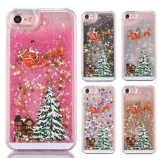 Christmas Phone Case Glitter Bling Cover For iPhone 6s 7 8 Plus XR XS 11 Pro MAX