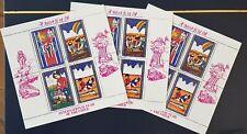 3 x Korea 1979 miniature sheet. International Year of the child.