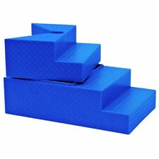 Deluxe Blue Breakable Ring Stairs For WWE Wrestling Action Figures