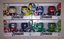 Hasbro MARVEL AVENGERS Mini Muggs Collectible Figures: Cptn America, Iron Man, +