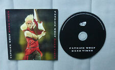 Patrick Wolf Hard Times Promo CD