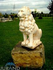 Löwe Stein Figur Skulptur Figuren Skulpturen Steinguss Figuren Statue Neu 1536