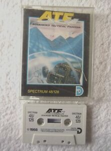 32947 ATF Advanced Tactical Fighter - Sinclair Spectrum 48K (1988)