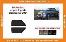pellicola oscurante vetri dahiatsu copen 2p dal 2003-2004 kit anteriore