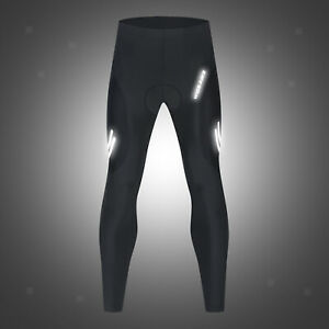Mens Cycling Pants Biking Trousers Tights Pockets Riding Mountain Bike