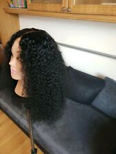 Glueless Brazilian Wig Human Hair Wig Watercurl 20