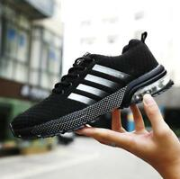 Mens casual sneakers breathable running shoes Lace Up athletic sports shoes Size
