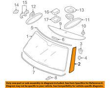 MINI OEM Cooper Windshield-Pillar Side Molding Trim Surround Left 51137128157
