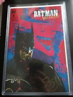 Batman Who Laughs 1 Midtown Variant Signed By Scott Snyder W/c.o.a