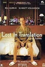 Dvd LOST IN TRANSLATION - L'Amore Tradotto - (2003) ** Contenuti Extra **..NUOVO