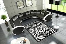 Ecksofa Ledersofa Sofa Couch Polster Eck Sitz XXL Garnitur Wohnlandschaft Big