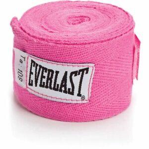 """Everlast 108"""" Boxing Handwraps Pink"""