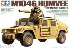 Tamiya 35267 1/35 Scale Military Model Kit U.S M1046 Humvee Tow Missile Carrier
