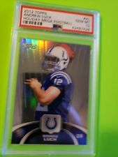 2012 topps holiday refractor andrew luck colts psa 10