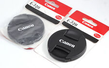 NEW Replacement 72mm Snap-On Front Lens Cap Cover E-72 II for Canon (QTY = 2)