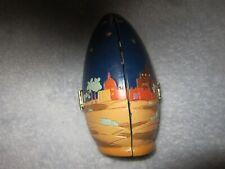 Vintage Christmas Egg Decoration Jesus born, Three Kings, Angel