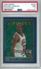 1995 Finest Michael Jordan Chicago Bulls  # 229 W/Coating PSA 7 NM
